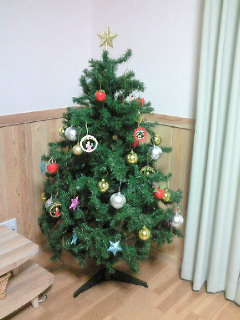 クリスマスには。